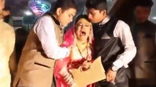 Indian Funny Marriage Rukhsati (ADVERTISEMENT NAVEED 4 STUDIO)