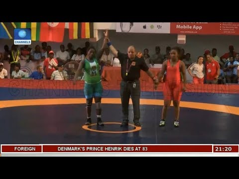 Reviewing Nigeria's Hosting Of African Wrestling Champ Pt 2 | Sports Tonight |