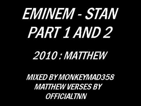 Eminem Ft. Dido - Stan Part 1 And 2 Uncensored