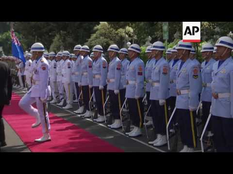 NZealand defence minister visits Indonesia