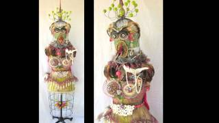Assemblage Art - Wild Things by Lauretta Lowell