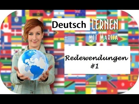 Redewendungen #1 Wortschatz Deutsch Prüfung B1 B2 C1