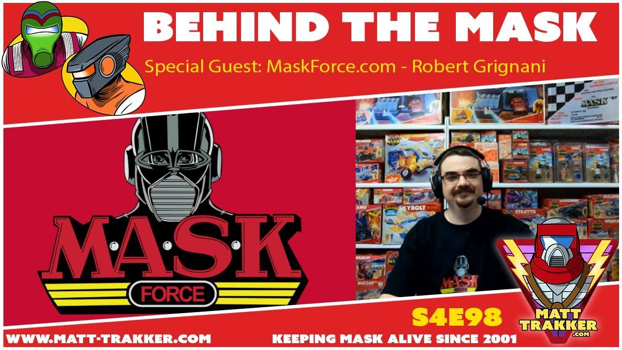 Special Guest: MaskForce.com / Robert Grignani - S4E98