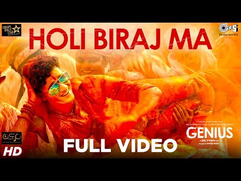 Holi Biraj Ma Full Video - Genius | Utkarsh, Ishita | Jubin Nautiyal, Himesh Reshammiya | Manoj