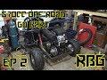 670cc Predator Off Road Go Kart Build Ep2