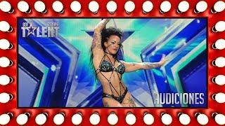 Su baile sexy y su erotismo convence al jurado | Audiciones 6 | Got Talent España 2018
