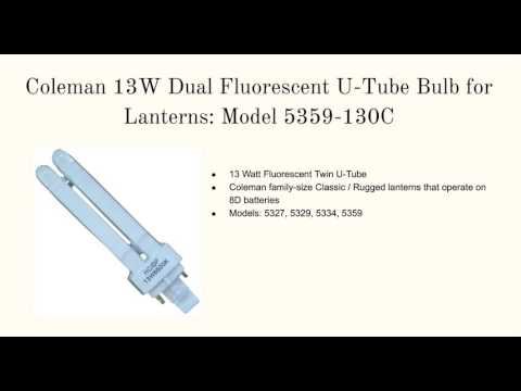 Coleman Lantern Replacement Bulbs - YouTube