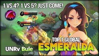 Anti-Ganking Emeralda? Annoying Shield by Bule Top 1 Global Esemralda - Mobile Legends