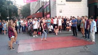 Танцевальные батлы Крещатика, Вечерний Киев часть 1 - Dance Battles Khreshchatyk, Kiev Evening part1
