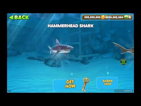 (UPDATED JUNE 2017!!) HUNGRY SHARK EVOLUTION HACK ANDROID 9999999999 COINS+GEMS
