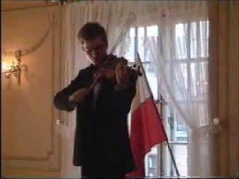 Wieniawski Henryk:Caprice No. 3 Op. 18 - Krzysztof Ruciński