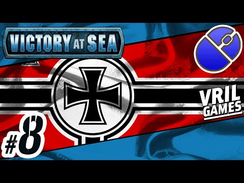 Let's Play Victory at Sea | Kriegsmarine ✠ | Atlantic Campaign #8