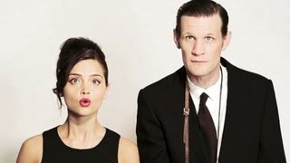 Matt Smith & Jenna Louise-Coleman: The Times Photoshoot - Behind The Scenes