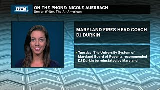 Nicole Auerbach on the Firing of DJ Durkin | Maryland | Big Ten Football