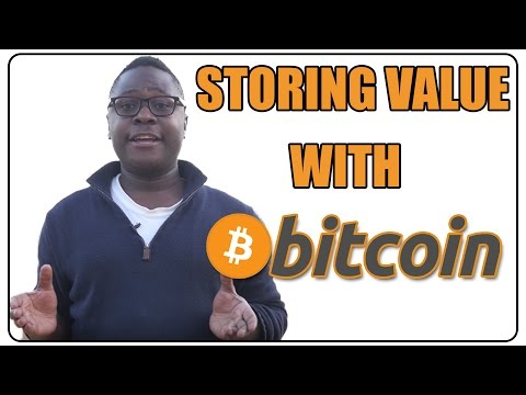 Using Bitcoin As A Store Of Value