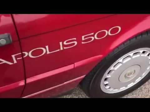 Indy 500 1993 Allante pace car