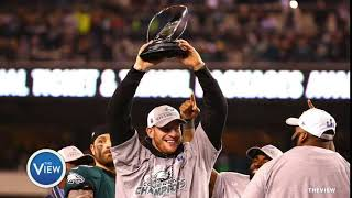 New England Patriots and Philadelphia Eagles Head To Super Bowl   The View