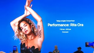 Today at Apple Singapore: Rita Ora - Let You Love Me Video