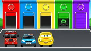 Tìm hiểu màu sắc xe ô tô đồ chơi cho bé và bài hát yêu thích của trẻ em