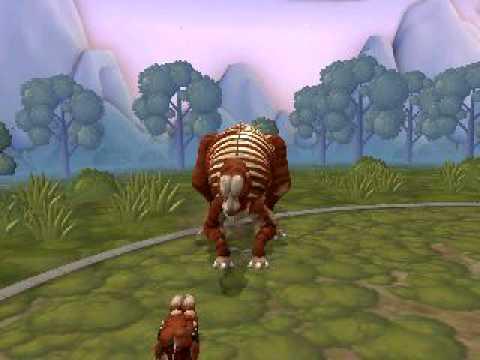 Spore Creature: Muttaburrasaurus