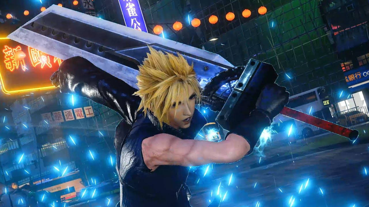 Jump Force – Cloud (Final Fantasy 7) Playable Character Gameplay (MODS)