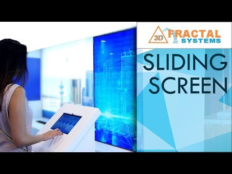 Sliding Screen - Zain and Dubai Police Stands (Gitex 2018)