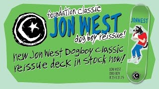Foundation Skateboards: Jon West full part from Art Bars