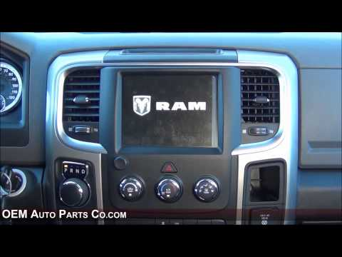 2013-2017 Infotainment Ram Truck Factory GPS Navigation 8.4-Inch RA4 Radio Upgrade. Easy Install!