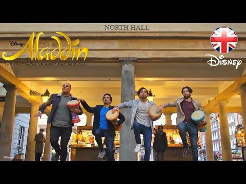 ALADDIN THE MUSICAL | Swapping Agrabah for Covent Garden, London! | Official Disney UK