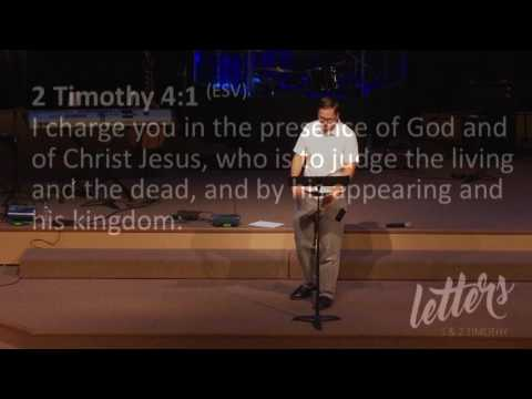 "Summit View Church ""Finish Well"" 2 Timothy 4:1-8 Pastor Kyle Van Tine"