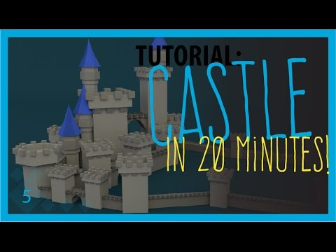 Low Poly Blender Tutorial: A Castle!
