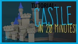 Low Poly Blender Tutorial: A Castle!