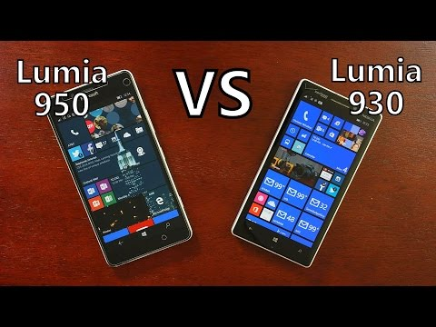 Microsoft Lumia 950 vs Nokia Lumia 930! Should You Upgrade?