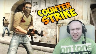 Потная катка))) в Counter Strike с вебкой