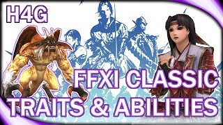 FFXI Classic - Slowly Acquiring Traits and Abilities!