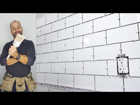 How to Install a Subway Tile Back splash