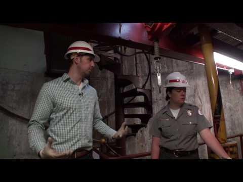 Underground Tour of the Ballard Locks Pump Plant