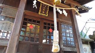 鎮守の社(亀戸水神宮・江東区亀戸4-11-8)*