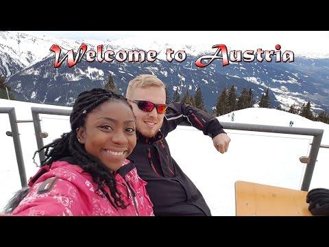JANE'S FIRST TIME (ON SKIS) | Austria travel 2017 | Vlog #12