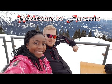 JANE'S FIRST TIME (ON SKIS) | Austria travel 2017 | Vlog #12