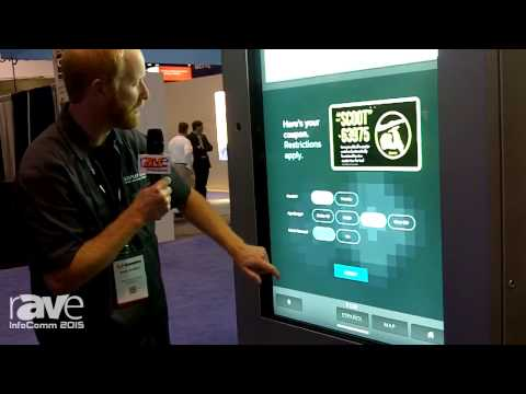 InfoComm 2015: Display Devices Showcases IKE Interactive Wayfinding Experience