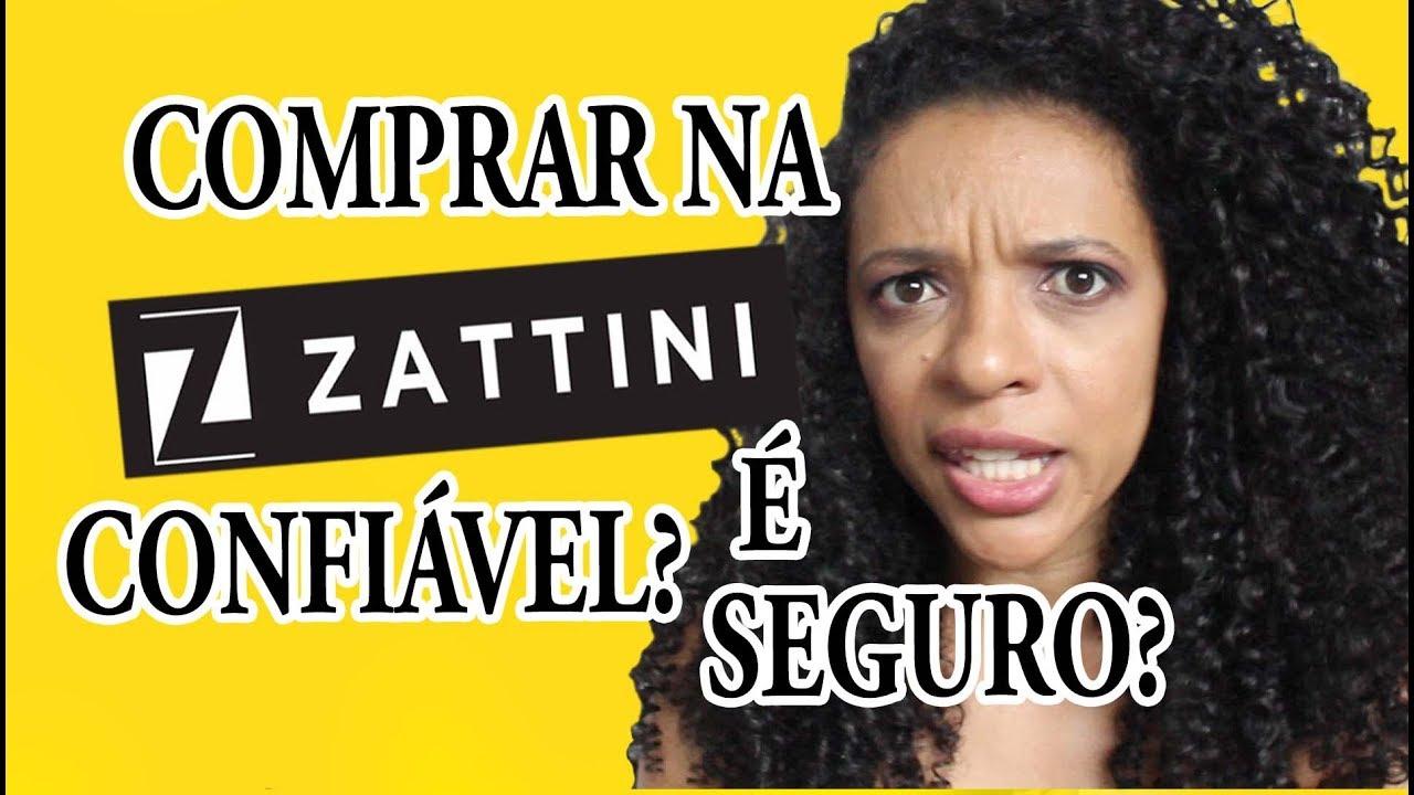 a1793a364 COMPRAR NA ZATTINI É CONFIÁVEL  É SEGURO  - YouTube