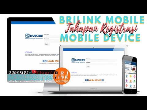Tahapan Registrasi BRIlink Mobile pada Mobile Device Versi 1.3.0 (2017)