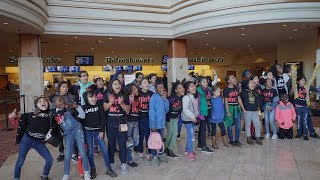 Organization brings more than 300 girls to see 'Captain Marvel'