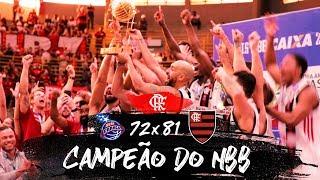Flamengo é hexacampeão do NBB - Bastidores