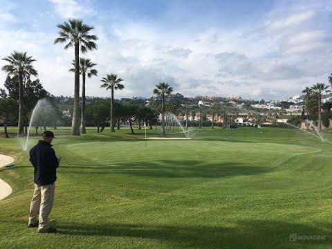 Diseño sistema de riego – Campo de golf [FIC-UNI]