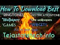 How To Download Best | Ringtones | wallpapers | Games | Widgets | All At One Place