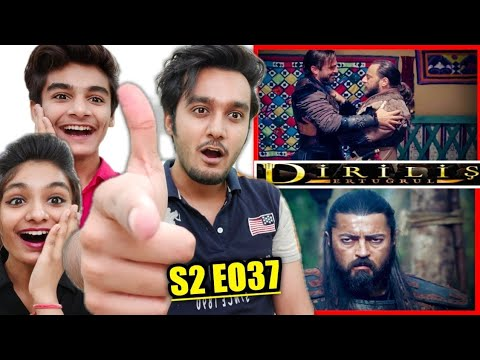 Download Ertugrul Urdu Season 2 Episode 37 Reaction | Ertugrul Ghazi Reaction | Diriliş Ertuğrul 37. Bölüm