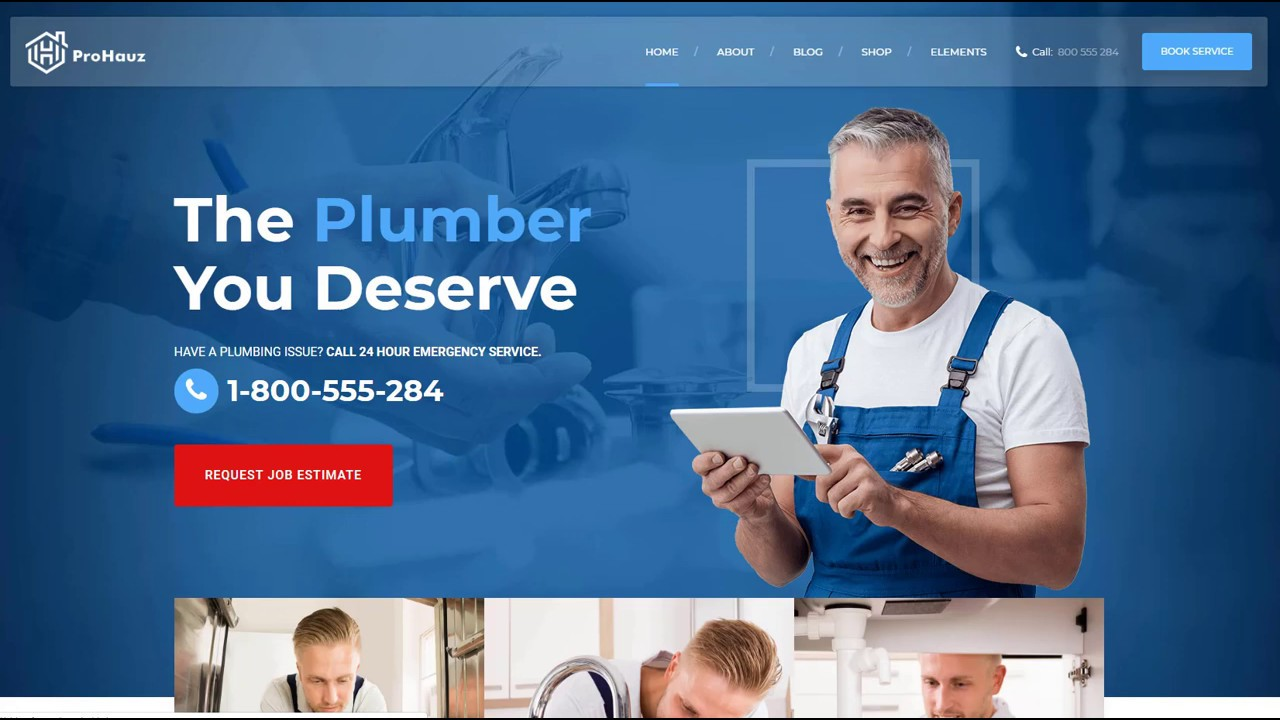 ProHauz - WordPress Theme for home maintenance and handyman - YouTube