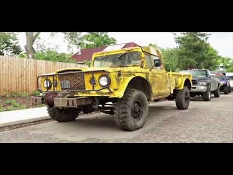 jeep kaiser m715 amc 401 1967 frame off restoration historical video jeep m715